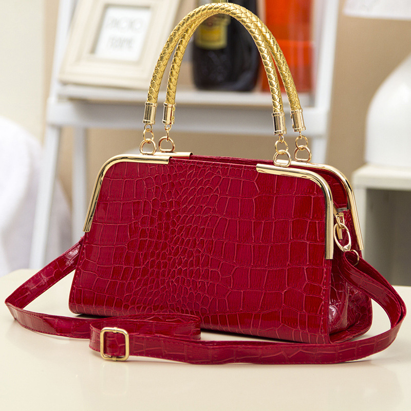 New arrive women leather handbag fashion women bag stone pattern shoulder bags Bride tote Europe style women messenger bags<br><br>Aliexpress