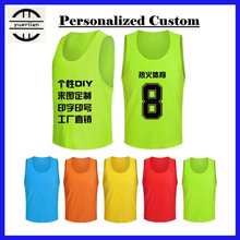 Personalized Custom LOGO&Name&Number Pro Soccer Tournament Training Vest,Adult Men&Children Boy Football Sports Mesh Vest