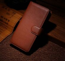TUKE luxury litchi Grain Wallet Credit Card Book Style Flip Stand PU Leather Case Back Cover For Blackberry Classic Q20 SJ3147
