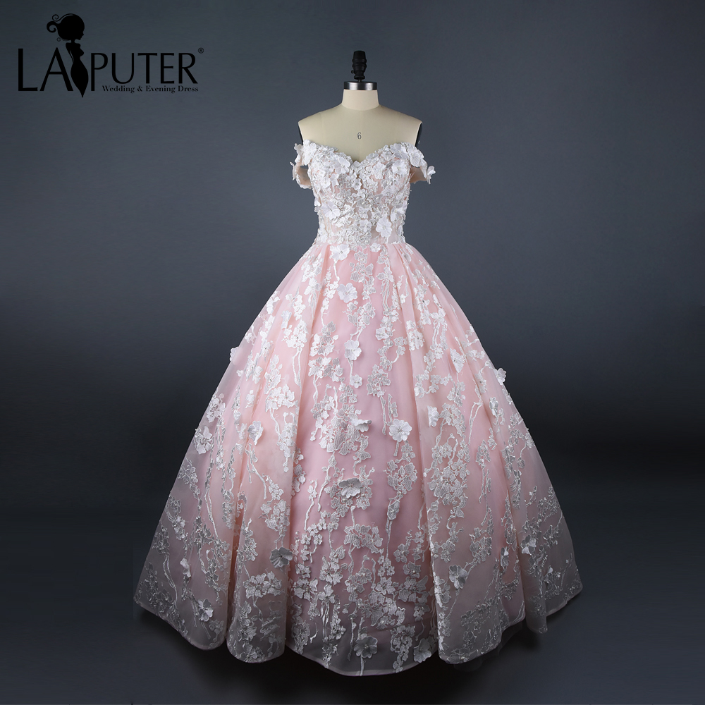 Ball Gown Wedding Dresses Sleeves Train Promotion-Shop for ...