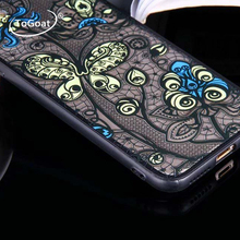 ToGoat Sexy Lace Paisley Mandala Henna Flower Case For iphone 7 Case Retro Cartoon Floral Phone Cases Cover For iphone7 6 6S PL
