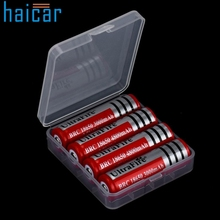 Haicar Hard Portable Plastic Storage Box Case Holder For 4 x 18650 Battery organizer U70322