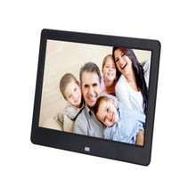 New Hot 10-inch high-definition screen digital photo frame slim narrow advertising video player pictures photos clock/calendar(China)