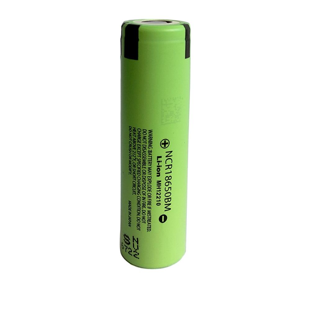 Original 18650 NCR18650BM 3.7 V 3200 mAh Li-ion Rechargeable Battery For Panasonic Flashlight Electronic Cigarette battery X2031
