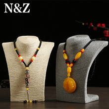 HOT-Selling 4 Colors Mannequin Cord  Necklace Decorate Pendant Jewelry Display Frame Stand Show For Women Wholesale Good Price