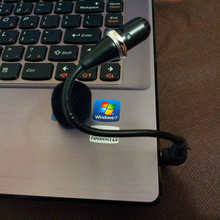 China Flexible 3.5mm Jack Microphone Speaker mini Microphone For PC Laptop Notebook For Desktop Skype(China)