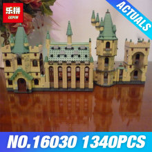 New Lepin 16030 The Hogwarts Castle 1340pcs Creative Movies Building Block Bricks Compatible 4842 Educational  Toy for children