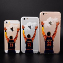 for iphone 5 5s se 6 6s 7 plus NBA basketball star phone cases hard shell Lebron james harden Jordan Stephen Curry Kobe cover(China)