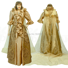 Tailored!17 century Duchess Princess regency Renaissance Gothic Theater  Dress medieval regency Halloween Gown Ball bcb6f01afa8f