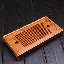 Small Bamboo Gongfu Tea Table Serving Tray 27*13cm Bamboo Tea Table chinese tea set bamboo