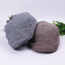 Summer Brand New Fashion Trend High Quality Retro Big Linen Baseball Cap Beret Hat High Quality for Men and Women
