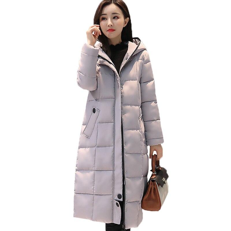 Women 2017 Winter Jacket  Winter And Autumn Thick Long Wear High Quality Parkas Winter Jackets Solid Outwear WomenÎäåæäà è àêñåññóàðû<br><br>