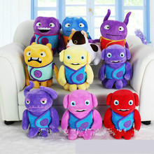 Hot Sale Dreamworks Home Movie Plush Toy Oh Boov Alien Kyle Dog Plush Toy 20cm Cartoon Soft Stuffed Doll Gift for Kids Children