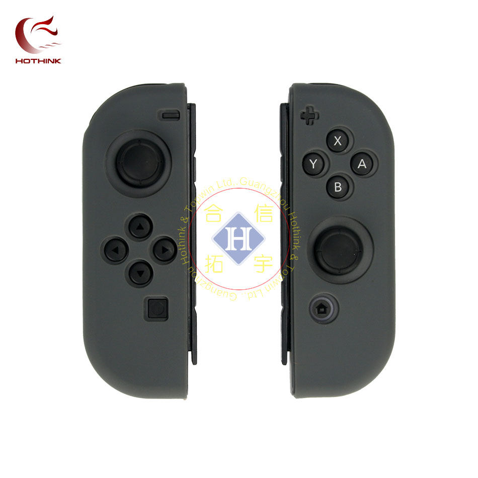HTOHINK 3 IN 1 Silicone Protective Case + Screen protector + game card box for Nintendo Switch JOY Con nintend switch JOY-CON