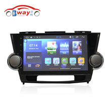 "10.2"" car radio for Toyota Highlander Kluger 2008-2012 android 5.1 car dvd player with bluetooth,GPS,SWC,wifi,Mirror link,DVR"