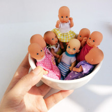 Original Rare Thumb Doll Pocket Mini Kelly Baby Doll Kids Girl Birthday Gift Collection DIY Decoration