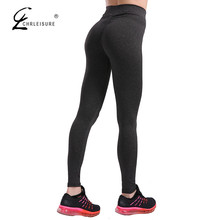 Buy CHRLEISURE Autumn Push Leggings Women Sportwear Workout Leggins Polyester Bodybuilding leggins Jeggings S-XL 7 Colors for $6.83 in AliExpress store
