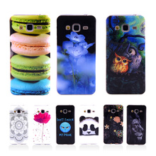 J3 2016 Fundas Fashion Phone Case Silicone TPU Cover For Samsung Galaxy J3 J300 J320 J3109 SM-J3109 Soft Plasitc Phone Bag Coque