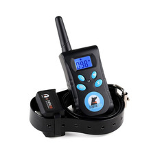 Electric Pet Dog Training Collar Shock Vibration Light Word Command Dog Training Device Trainer Remote Control Waterproof 500M