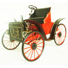 China Exclusive Design Handmade Metel Classic Cars Models Ford T- Precious Gift Creative Decor Crafts