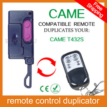 100% copy fixed code Universal RF Remote Control Duplicator for Garage Door (include CAME remotes) CAME T432S