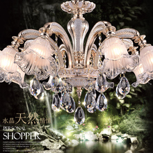 New crystal chandelier 8 Arms Luxury crystal light Fashion ceiling crystal light Modern Large chandeliers Diameter 80cm