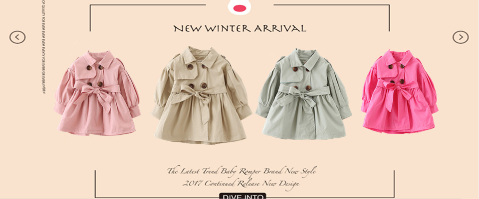 baby girls clothes winter cotton coats