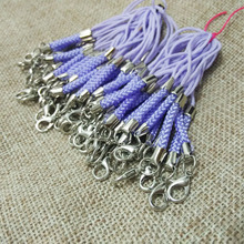lariat Lanyard mobile case straps lobster swivel hooks jump rings bag tassel Charms accessories parts hooks wholesale supplies