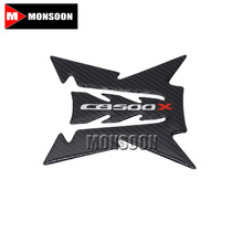 For HONDA CB500X CB 500X CB500 X Motorcycle Accessories Carbon Fiber Tank Pad Fuel Pad Decal Gas Emblem Protector Sticker