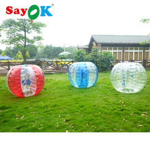 Free shipping Bumper bubble ball diameter 1.5m(5ft)for adult red inflatable bubble soccer with CE certificate for football games(China)