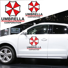 Cool Umbrella style car side door car styling vinyl sticker,die cut vinyl decals and stickers glossy film for volvo/chevrolet