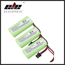 2.4V 800mAh Ni-MH High Quality 3pcs For Uniden BT-1021 BT-1025 BT1021 BT1025 CPH-515B Cordless Home phone battery