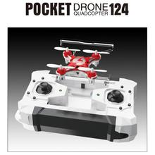 Mini Drone FQ777-124 Micro Pocket Drone 4CH 6Axis Gyro Switchable Controller RC toy RC helicopter