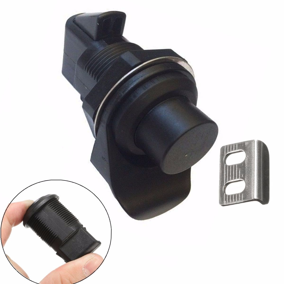 2PCS Push Button Latch Replacement Southco 93-303 Glovebox Lock Boat Marine Well