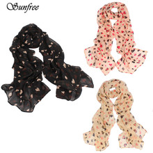 Sunfree 2016 Fashion Hot Sale Love Heart Soft Long Shawl Scarf Wrap Stole For Women Great Gift New Design High Quality Oct 1