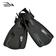 KEEP DIVING Swimming Fins High Quality Snorkeling Foot Flipper Diving Fins Swimming Equipment(China)