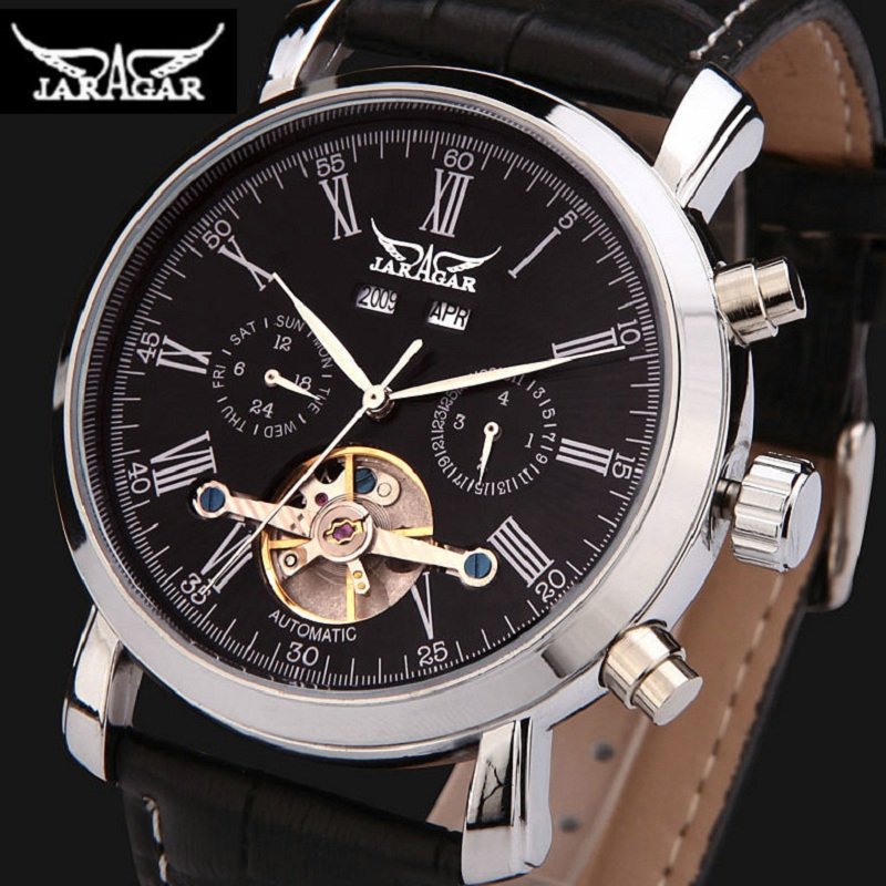 2017 Luxury Brand Watches Men Automatic self-wind Fashion Casual Male Sports Watch Tourbillon Modern Business Dress Watch<br>