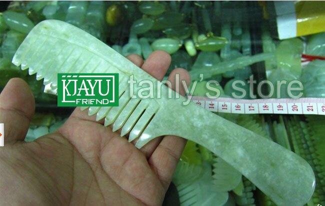 wholesale guasha comb original beauty JADE comb  randomly color traditional health care 100% natural big size<br>