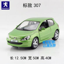 KINSMART Die Cast Metal Models/1:32 Scale/2001 Peugeot 307 XSI toys/for children's gifts/for collections(China)