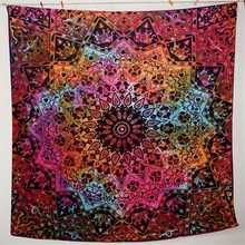 210X145cm Bohemian Wall Hanging Tapestry Mandala Bedding Bedspread Home Bedroom Decorative Textiles Beach Towel Throw Mat