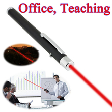 Funny Pet stick Childrens Cat Toys 5mW Pen Shaped Single Point LED Red Beam Laser Pointer Pen for Work Teaching Training(China)