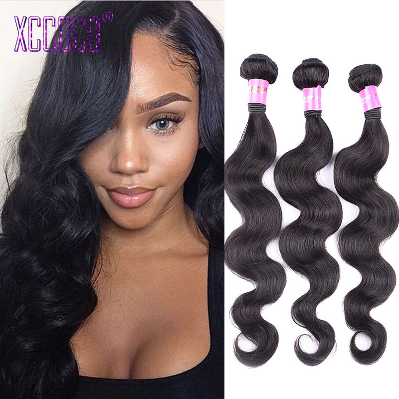 Brazilian Cheap Body Wave Human Hair Bundles 3 Pcs/Lot Brazilian Virgin Hair Body Wave 100g/Pcs Full Brazilian Hair Extension<br><br>Aliexpress