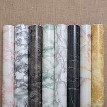 Thickening marble adhesive hearth windowsill paint ambry ark table furniture refurbished sticker paper waterproof walls-282(China)