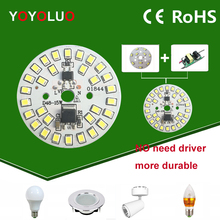 YOYOLUO LED Lamp Chip 3W 5W 7W 9W 12W 15W 220V 230V 240V  Input Smart IC Driver Fit For DIY Cold Warm White LED bulb Spotlight