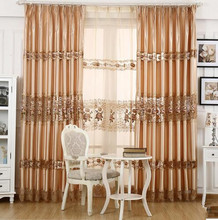 High-grade embroidery curtain gauze cloth European pastoral Korean bedroom products
