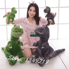 Dorimytrader 24'' / 60cm Big Animal Tyrannosaurus Rex  Toy Plush Soft Stuffed Dinosaur Doll Gift 2 Colors Free Shipping DY61181