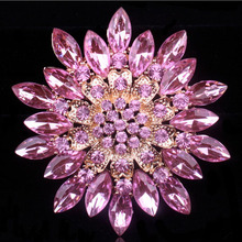 crystal brooch Clothing accessories wedding jewelry diamond brooch Gift gift badges(China)