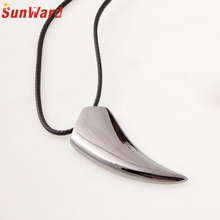 1 Pcs Stainless Steel Wolf Tooth Pendant Necklace Men Fashion Jewelry Punk Style Delicate Best Gift