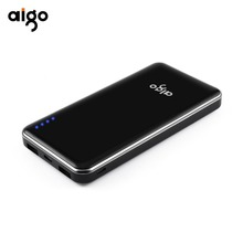 Buy Aigo Power bank xiaomi Mi, quick charge Power Bank 10000mAh Powerbank iPhone 6 7 SE Mobile Phone External Battery for $20.15 in AliExpress store