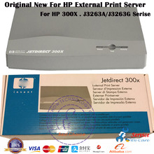 Original New J3263A J3263G 10M/100M For HP Jetdirect 300X HP300X Print Server With Power Supply